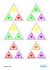 Autism Social Skills Turn Taking Colors Triominoes Game, S
