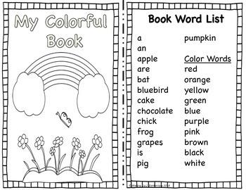 Colors Unit: Read, Trace, & Identify Colors