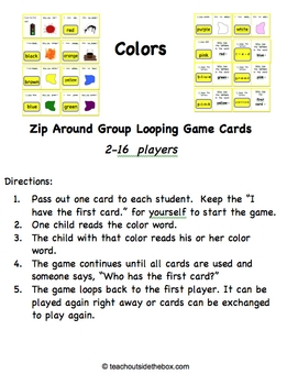 Colors Unit for the Classroom: Fun Activities for Teaching Colors