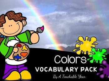 Colors - Vocabulary Pack