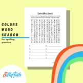 Colors Word Search - Spelling Practice
