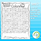 Colors Word Search Puzzle - 3 Levels Differentiated