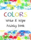 Colors Write & Wipe Activity Book