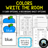 Colors Write the Room with Apple Theme