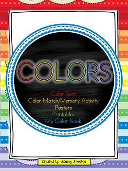 Colors (activities & printables) 80+ pages