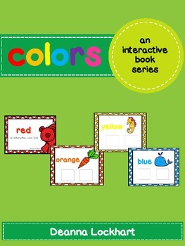 Colors-an interactive color book series