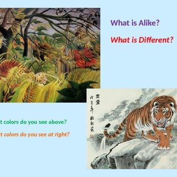 Colors and Animals a la Rousseau
