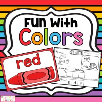 Colors and Brown Bear: Fun with Colors - Brown Bear activi