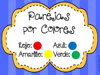 Colors and Categories Match: Spanish