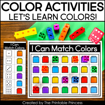 photo about Color Words Printable known as Shades and Colour Text Routines