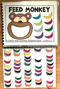 Colors and Counting Adapted Books Bundle