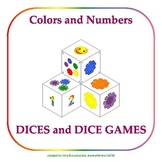 Colors and Numbers: Fun Dices and Games for Toddlers and P