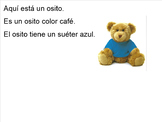 Colors and Pictures Practice - Azul for Kindergarten