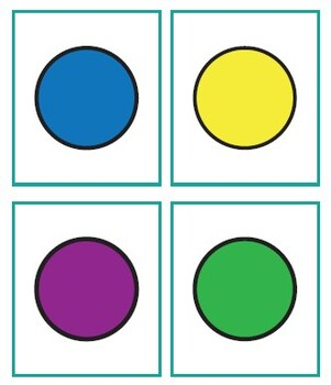 Colors and Shapes BINGO