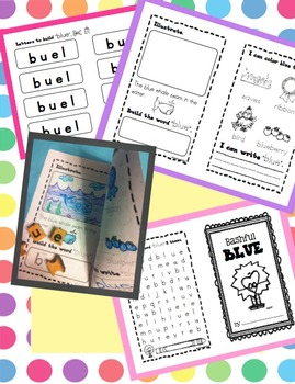 Colors and Shapes Bundle - 15 Interactive Booklets
