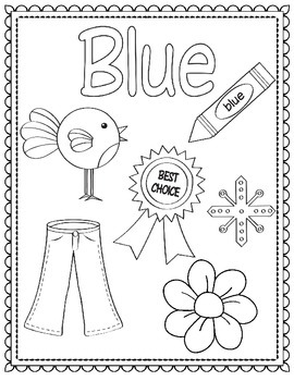 Colors and Shapes Coloring Sheets/Posters