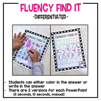 Colors and Shapes Fluency Find It