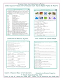 Colors and Shapes Interactive Spanish Combo Worksheet-Google Apps