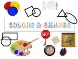 Colors and Shapes Kinder Science PowerPoint - Animated and