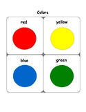 Colors and Shapes Mat
