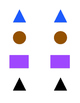 Colors and Shapes Memory Game