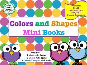 Colors and Shapes Mini Books