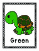 Colors and Shapes Posters ESL