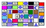 Colors and Shapes Spanish Legal Size Photo Board Game