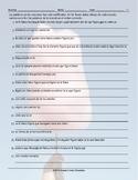Colors and Shapes Spanish Scrambled Sentences Worksheet