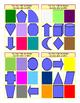 Colors and Shapes Tic-Tac-Toe or Bingo