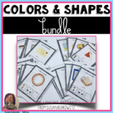 Colors and Shapes Vocabulary Bundle Speech Language Therapy