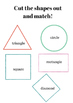 Colors and Shapes Worksheet