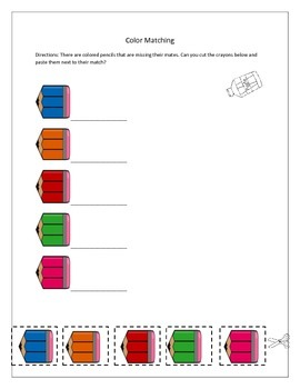Colors and Shapes Worksheets