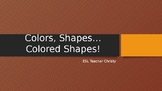 Colors and Shapes for Beginners