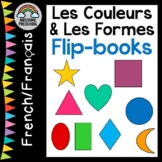 Colors and Shapes in French Flip books - Les Couleurs et L