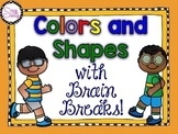 Colors and Shapes with Brain Breaks (Editable)