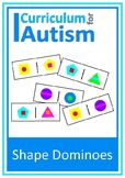 Shapes Dominoes Game Autism