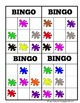 Colors bingo French | Bingo 'Les Couleurs Français'