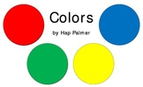 Colors by Hap Palmer - Song Cards