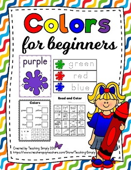 Colors for Beginners