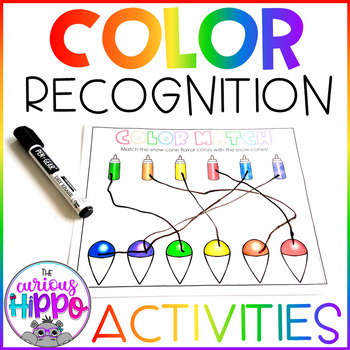 Rainbow Colors Preschool Pack