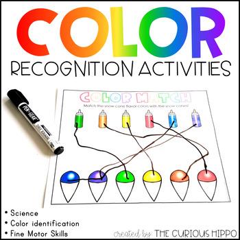 Rainbow Colors Preschool Pack
