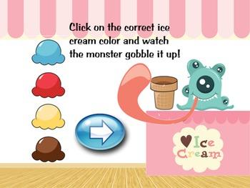 Colors for preK and Kindergarten
