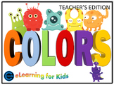 Colors for preK and Kindergarten