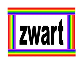 Kleuren (Colors in Dutch) Posters