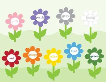 Colors in English ~ Bingo Game