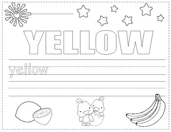 Colors in English ~ Worksheets