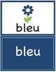 Colors in French ~ Les Couleurs ~ Flash Cards