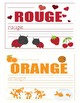 Colors in French ~ Les Couleurs ~ Mini Booklet
