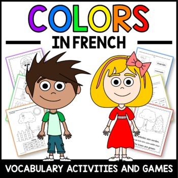 French Colors Activities and Games - Les Couleurs en Français | TpT